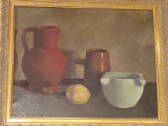 127-Mortero jarras y limón.