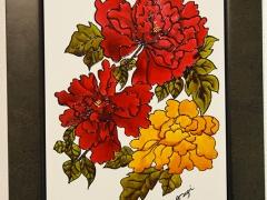 547-Flores rojas