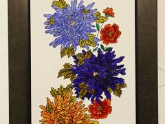 548-Flores azules